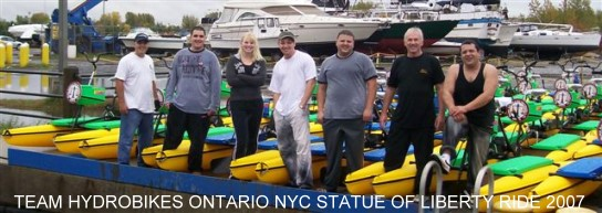 The Hydrobikes Ontario Team