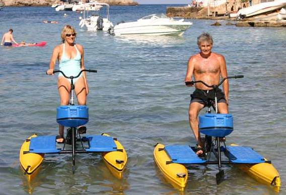 Hydrobikes are great for couples to have fun and get fit!