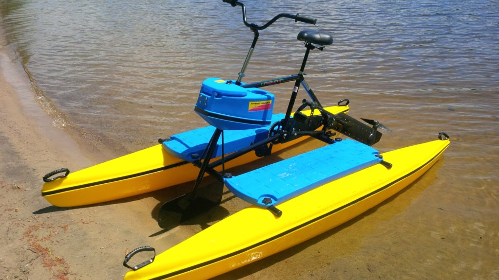 water bikes by Hydrobike