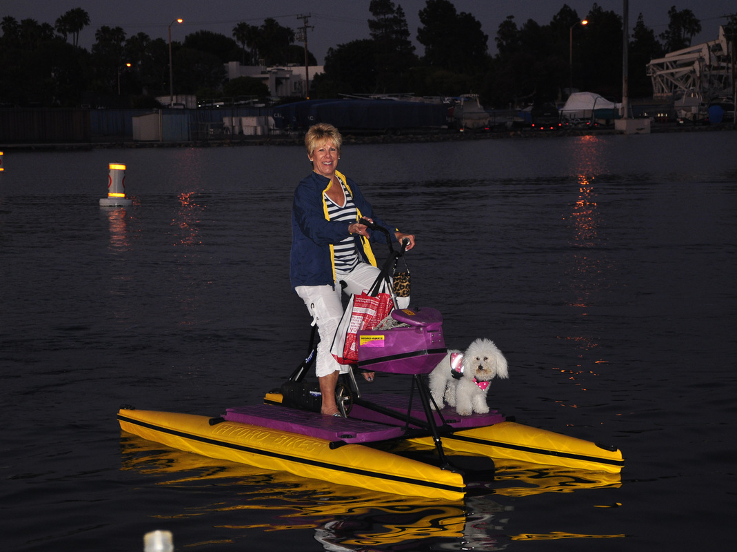 Hydrobikes are dog friendly!
