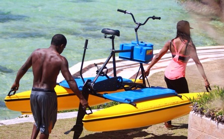 hydrobikes are easy to carry