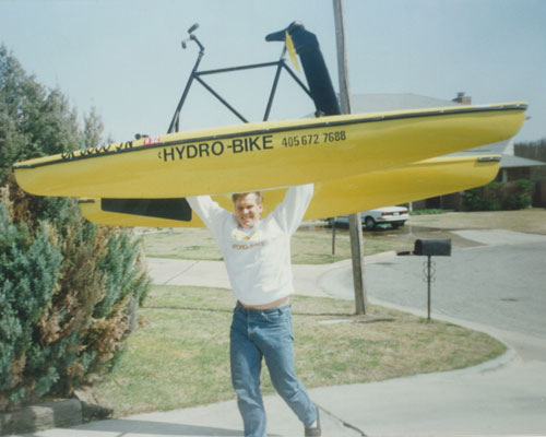 Hydrobikes are lightweight