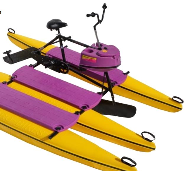 Hydrobike angler has many advantages over fishing kayaks for Canoe vs kayak fishing