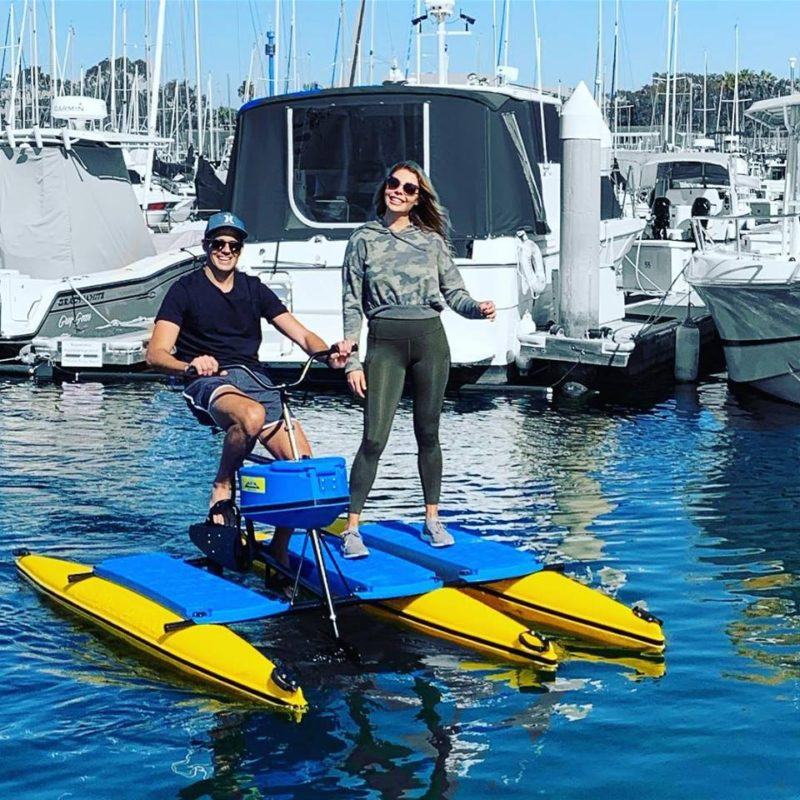 Hydrobike Angler beats fishing kayaks for stability, floatation, deck space!