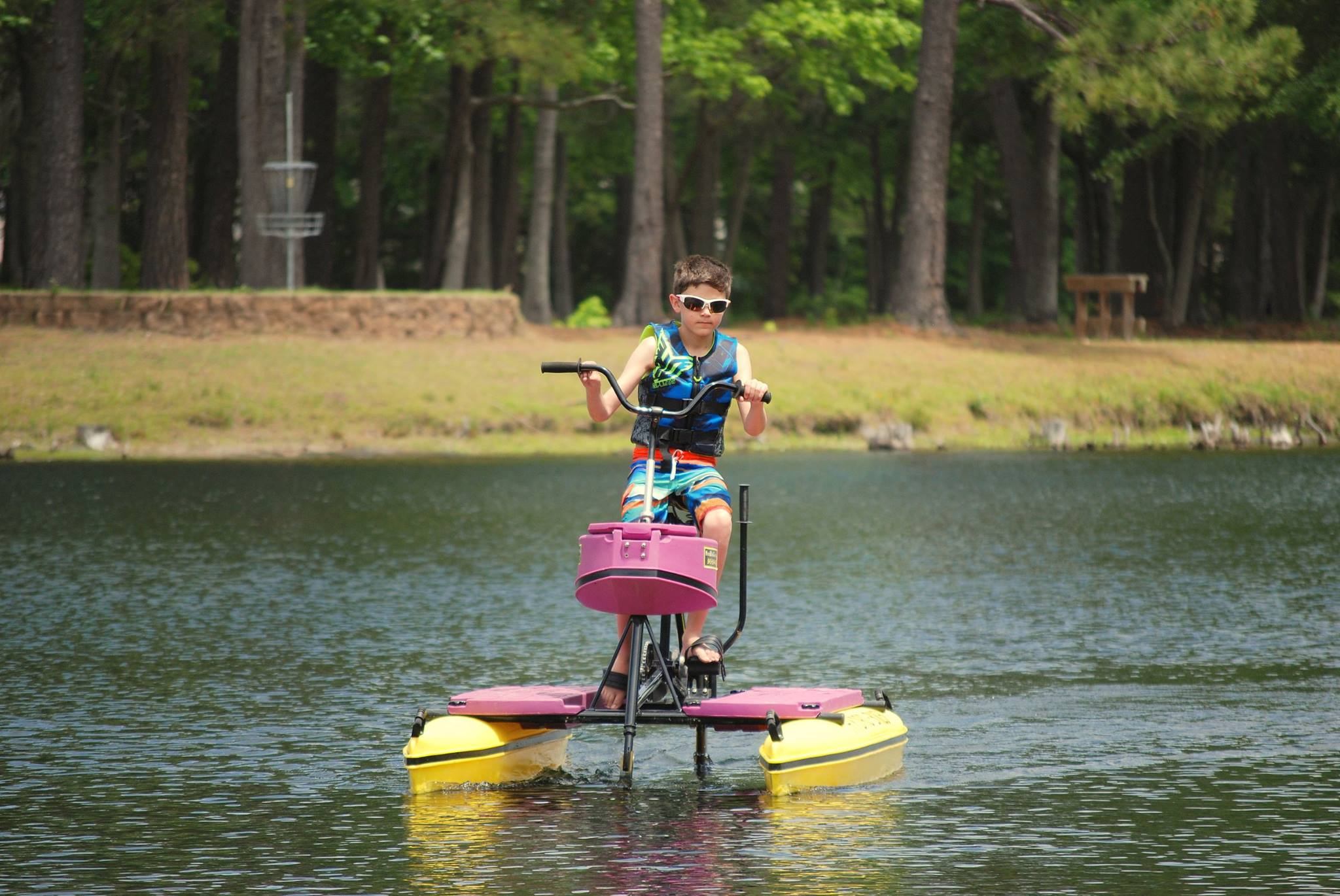 water bicycle Hydrobike Inc