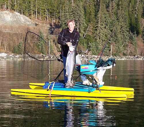hydrobike fishing