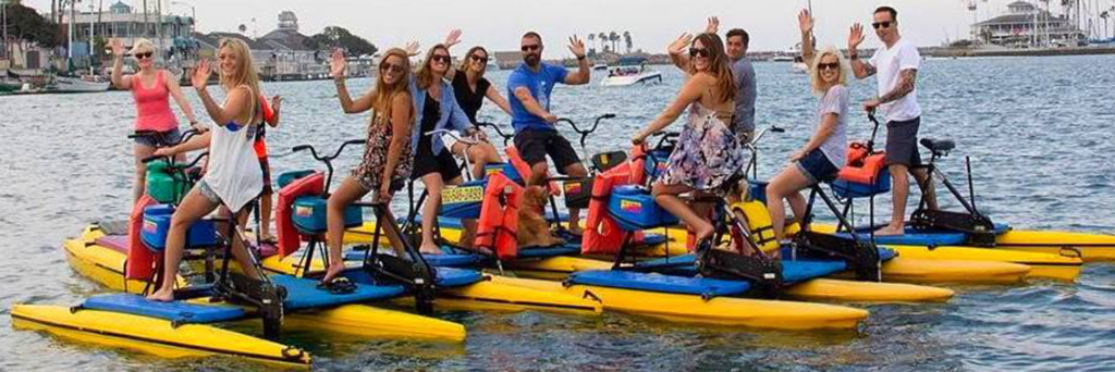 water bikes by Hydrobike Inc
