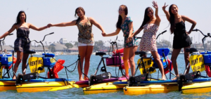 Hydrobike water bike rental business