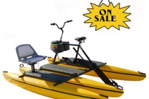 hydrobike water bike fishing
