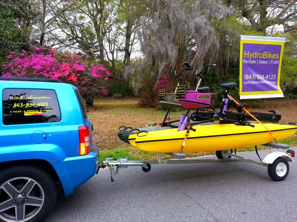 Hydrobike HydroPal trailer