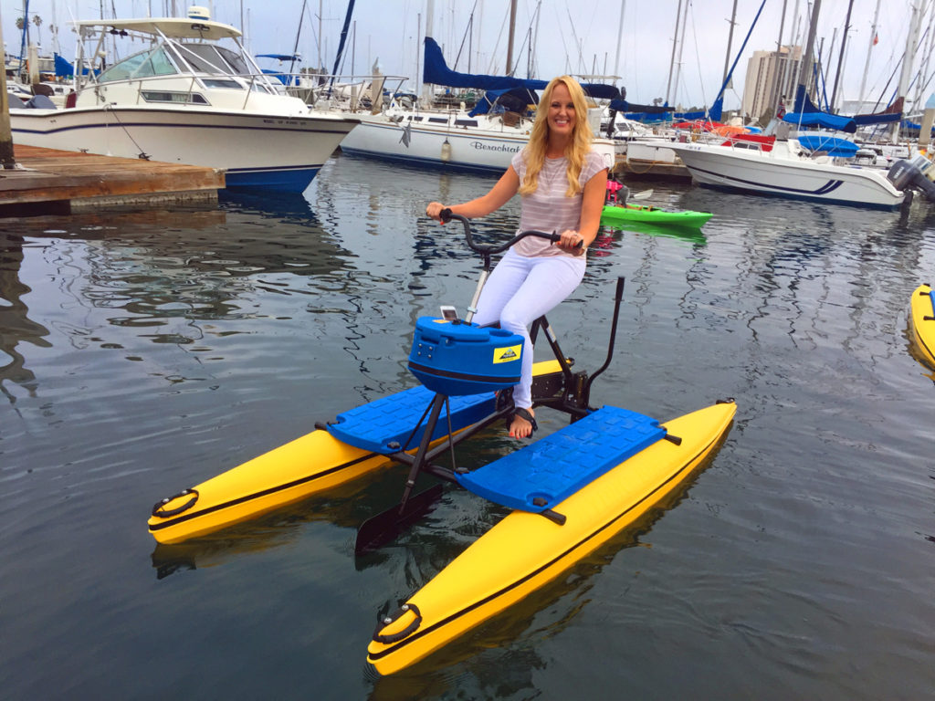 Water bikes by Hydrobike.  World leader in water bike sales since 1990!